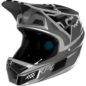 Fox Rampage Pro Carbon Bst Fullface Helm Herren metallic silver
